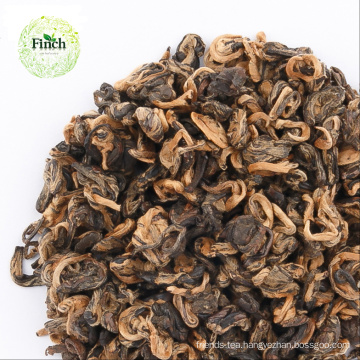 Finch Chinese Good Sale Best Black Tea Red Golden Snail Yunnan Black Tea (EU Standard)
