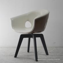 Современная мебель для столовой Обеденный стул с металлической ножкой