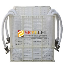 Industrial PTFE Immersion Coil Heat Exchanger