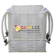 Intercambiador de calor industrial de bobina de inmersión de PTFE