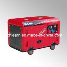 10kw aire-enfrió dos generador diesel del cilindro fijado (DG15000SE)