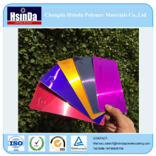 Chengdu Hsinda New Product Red Purple Blue Candy Powder Coating