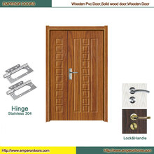 Puerta plegable del PVC del cuarto de baño de la puerta del MDF de la puerta plegable del MDF
