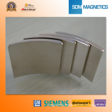 Arc Magnets for Motor
