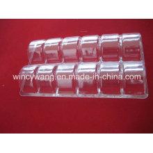 Paquetes blister de plástico transparente