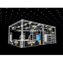 exhibition booth stand design in shanghai in china, used trade show booths free design and constructions
