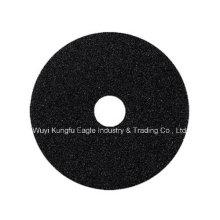 """6"""" disco de fibra abrasivo para acero inoxidable, madera, piso"""