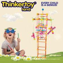 Plastic Toy Child Educational Toy Colored Building Blocks