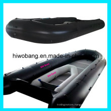 0.9mm PVC Inflatable Army Use Large Boat