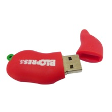 Hot Selling Aangepaste Leuke Chili Pen Drive