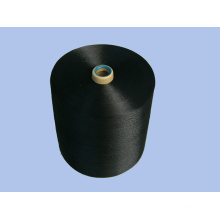 VISCOSE FILAMENT YARN , BLACK , 900D*4*2
