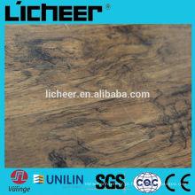 Piso de madeira imitado imitado / fácil clique laminado pavimentação