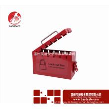Wenzhou BAODSAFE BDS-X8601Carbon acier Kit de verrouillage de groupe boîte de cadenas de sécurité