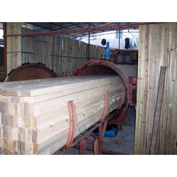Autoclave de haute qualité pour l'imprégnation du bois