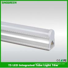 Ce RoHS FCC T5 LED luz integrada do tubo 1.2m 16W