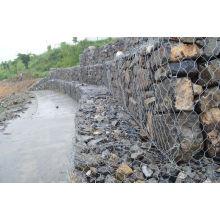 Galvanisierte Flussbank schützt Gabion Korb / Gabion Box / Reno Matratze