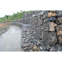 Galvanized River Bank Protect Gabion Basket/Gabion Box/Reno Mattress