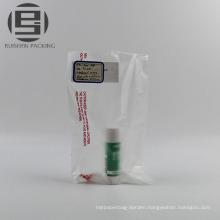 Custom food grade biodegradable flat bag on roll
