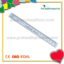 Transparent HIPS Plastic Ruler for School