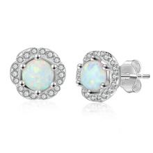 Opal Earring High Quality Popular jewelry Opal Stone Earrings for Women
