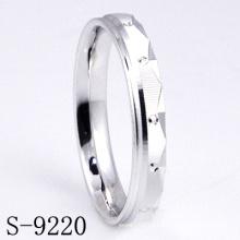 Anillo de la boda de la plata esterlina de la manera / anillo de la joyería del contrato (S-9220)