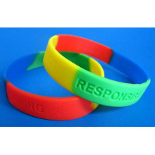 2016 Hot Selling Section Silicone Bracelet Manufacturer