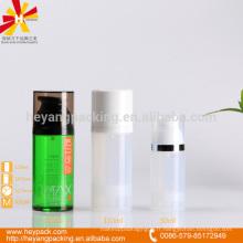 50ml 110ml PP PETG matériau bouteilles en plastique transparent