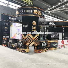 Detian Offer vape e cigrette Vape Expo China Show booth design & construction