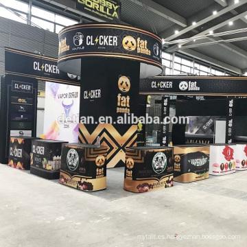 Oferta Detian vape e cigrette Vape Expo China Show diseño y construcción de stand
