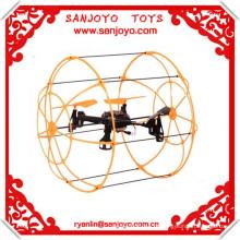 2014 Recém 312 Escalada na Parede & LED 2.4g 6-axis ufo aeronaves rc quadcopter Controle Remoto rc quadcopter intruso ufo