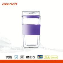 Théière en verre recyclable promotionnelle en Chine