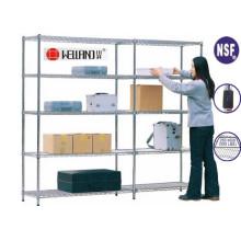 Einstellbare Warehouse Metal Rack, Light Duty Storage System (CJ12035180A5C)
