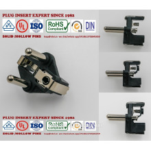 AUTOMATIC MACHINE USE 16A PLUG INSERTS 16A schuko vde plug Insert rohs path reach hollow solid