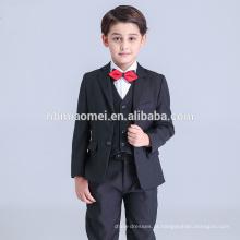 Conjunto de roupas por atacado para o menino do menino do desgaste formal do menino ajustado para o casamento