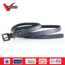 2014 Fashion blue girls glitter belts