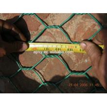 grillage hexagonal galvanisé / treillis métallique de renfort concret / treillis métallique de poulet pour le plâtrage
