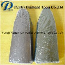 Bloc abrasif de meulage de résine de diamant de machine automatique en céramique de pierre