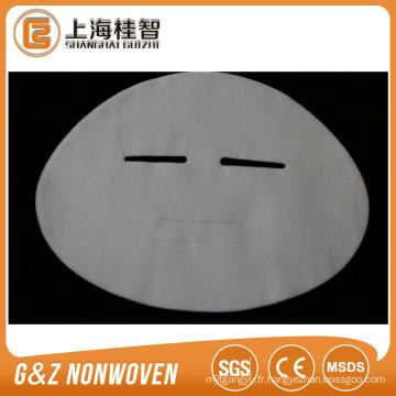 paquet de masque de tencel cosmétique non tissé