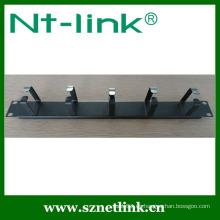 1U 4pcs Metal Ring AV Cable Management
