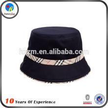 2015 fashion black bucket hats