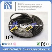 Premium HD15 male-to-male VGA-Kabel mit ferrites Kern für Computer zu LCD / LED-TV