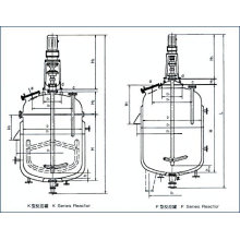 Fermentation Tank / Jacketed Agitated Reactor