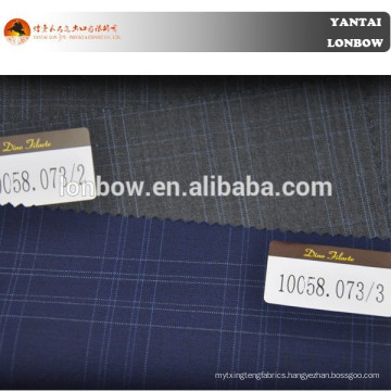 100% wool fabric, men's suiting fabric, navy fabric