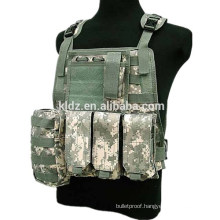 Military Tactical Airsoft Vest Marine Assault Molle Plate Carrier Vest