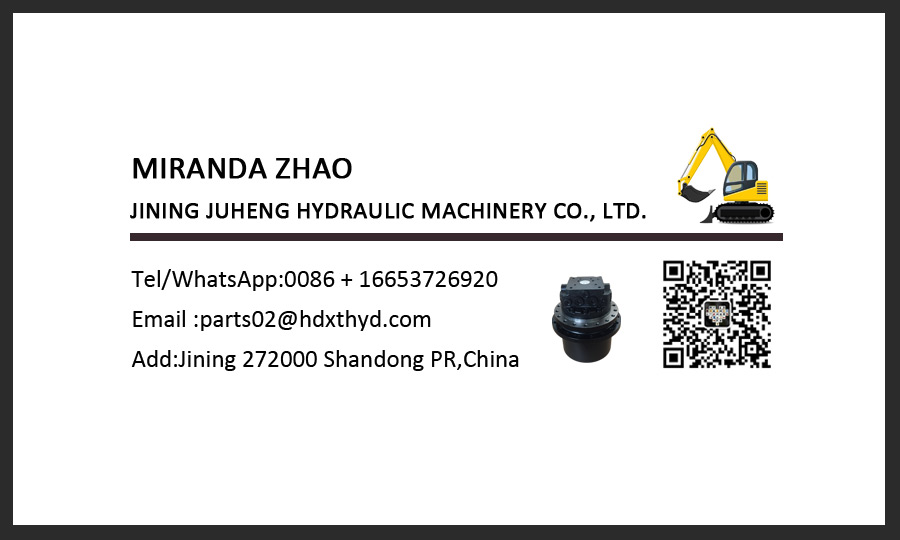 Mini Excavator VIO30 Travel Motor