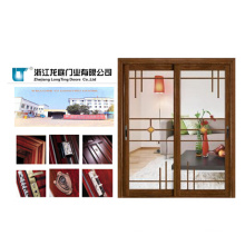 Double Glass Cheap Interior Aluminium Door
