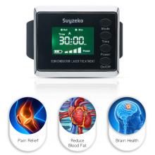 Reloj de terapia de ultra ondas de máquina láser terapéutica