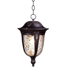 Classical French Outdoor Ceiling Lights Die Casting Aluminum Glass 220v Hanging Lamp