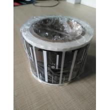 impressão de adesivo à prova d'água com material PET de qualidade