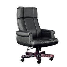 Chaise de bureau de bureau en cuir de vache de haute qualité (HF-LTM009)